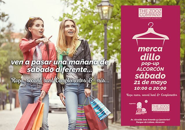 Mercadillo Pop up en Alcorcón