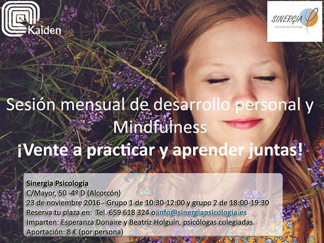mindfulness en alcorcon
