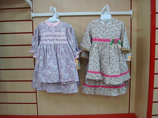 Vestidos marca BabyFer, de fabricación española a 20€.