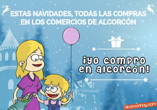 el comercio de tu barrio en Alcorcón te felicita las navidades con lo mejor de las ofertas en Alcorcón.
