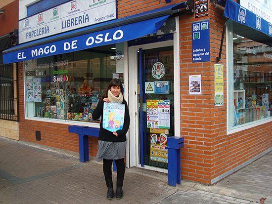 Marta de El mago de Oslo Alcorcón en C/ Oslo 29 tiene el hilo invisible que une lo que está destinado a conocerse