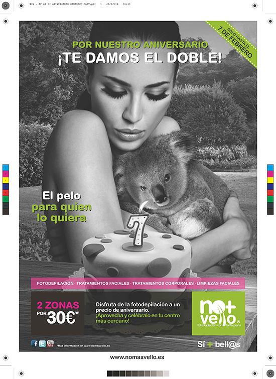 Promoción aniversario: Hasta el 7 de febrero 2 zonas por 30€.