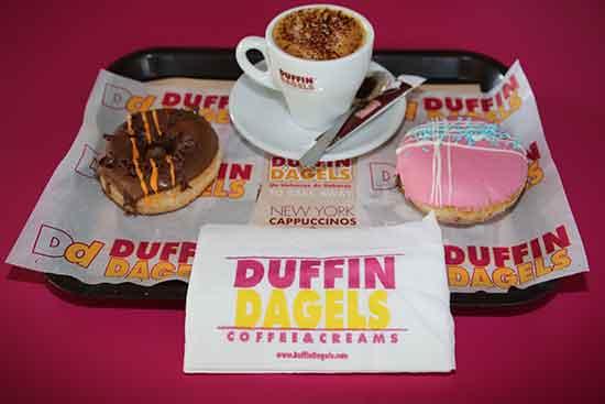Prepárate a tener dulces sueños merendando con nosotros: Café + 2 Duffins por 2,75 €. Diles que vas de parte de AlcorconHoy.