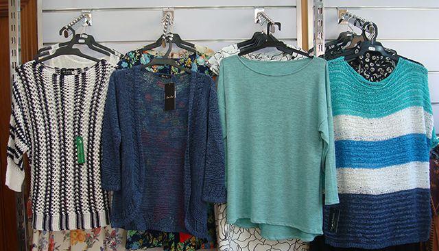15% descuento en ropa de punto de fabricación nacional.