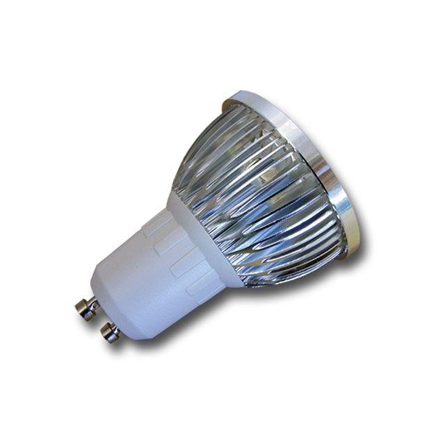 Bombilla led dicroica de 6W a 3,90€.