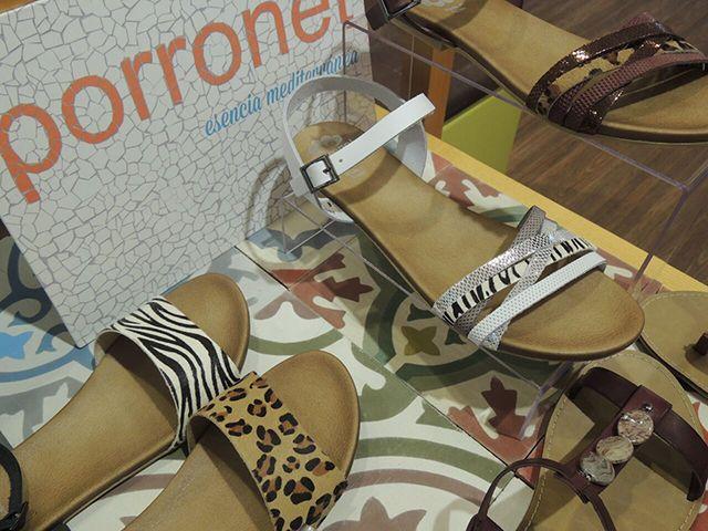 Sandalias marca Porronet. El estilo que marca este verano.