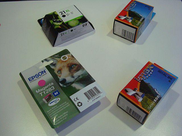 Cartuchos compatibles y originales de la marca española Imax.