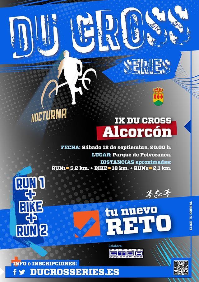 Duatlón cross nocturno Alcorcón