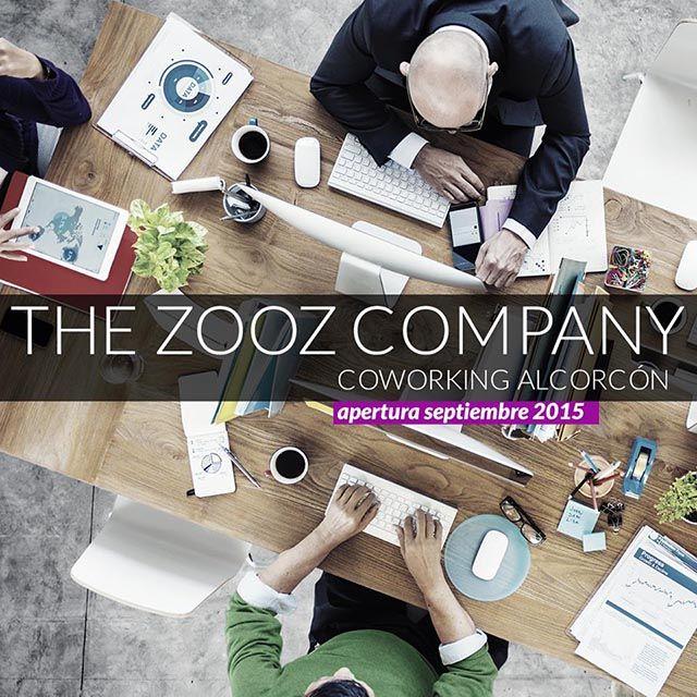 The zooz company Alcorcón abre su espacio Coworking en Septiembre de 2015 en Alcorcón