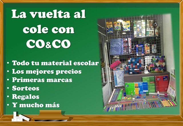 El plan vuelta al cole de Consumibles Co & Co Alcorcón