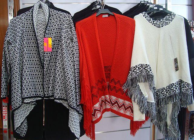 Plan Un poncho para otoño de Factory shop