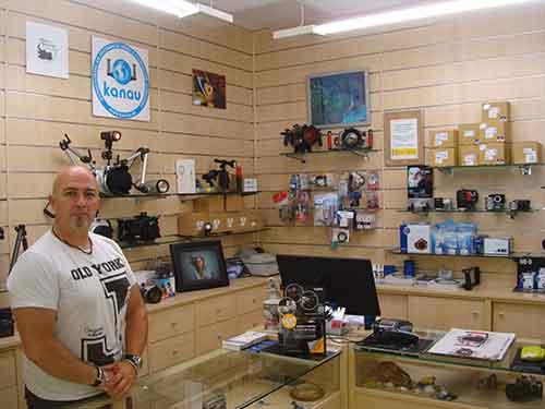 Kanau tu tienda de fotografía de Alcorcón