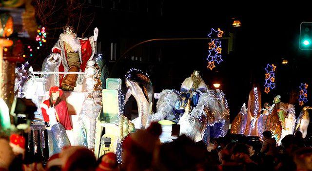 Cabalgata de los Reyes magos en Alcorcón