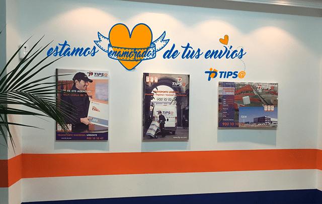Agencia de transporte Tips@ Alcorcón
