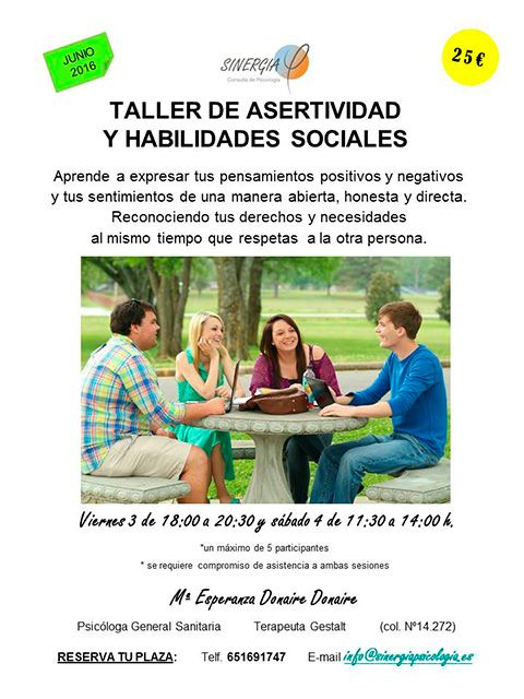 Taller de habilidades de comunicación en Alcorcón