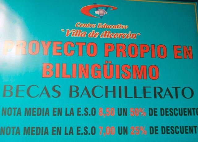 Becas del Colegio Villa de Alcorcón