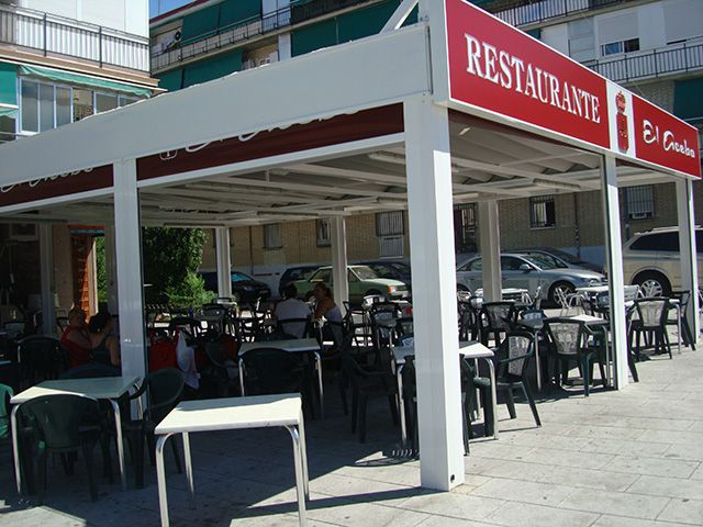Restaurante con terraza en Alcorcón