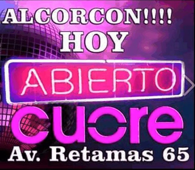 Salir de marcha en Alcorcón