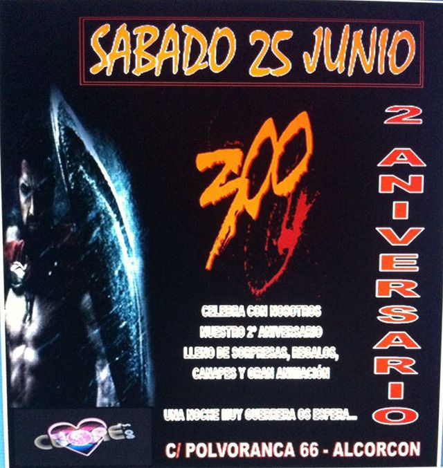 2º Aniversario en Cuore Alcorcón