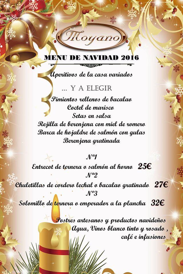 menu navideño de moyano 2016
