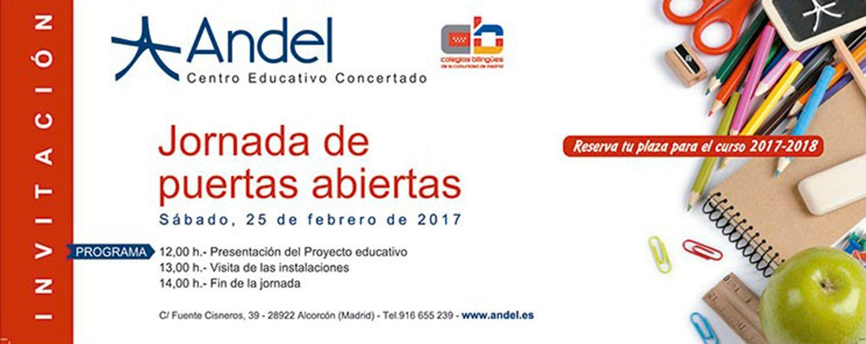 Colegio Andel - Jornada de puertas abiertas