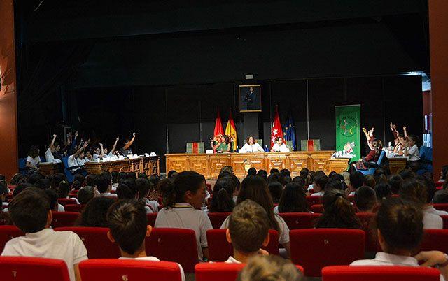 "Marcos Román Maqueda, se convierte en ""alcalde"" de Alcorcón por un día"