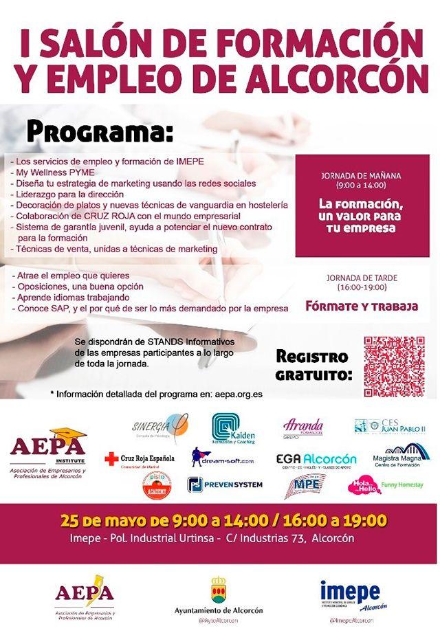 I Salón de formación y empleo de Alcorcón