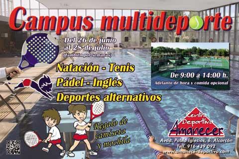 Campamentos de verano del Colegio Amanecer
