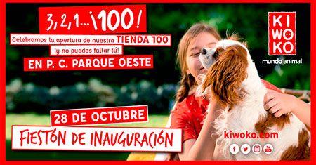 Kiwoko, la megatienda de animales, abre su tienda 100