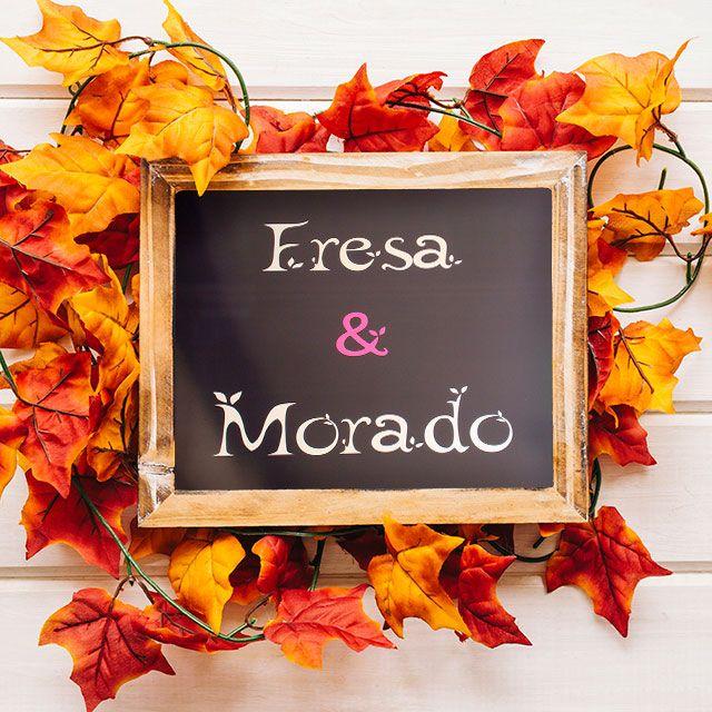 En Fresa & Morado huele a otoño