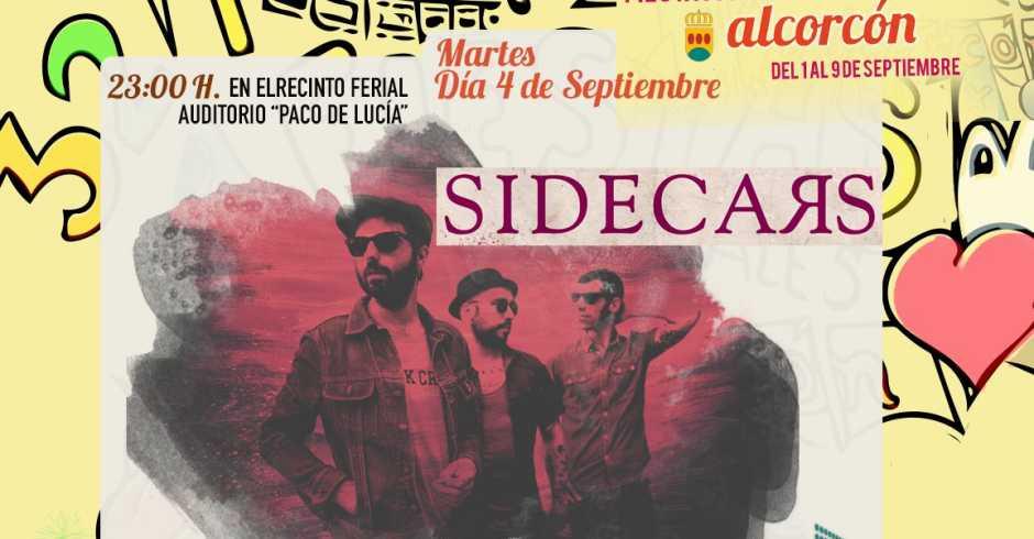 Los sidecars tocarán en las Fiestas de Alcorcón 2018