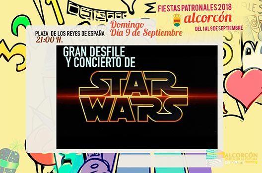 Fiestas de Alcorcón 2018 - Concierto Star Wars