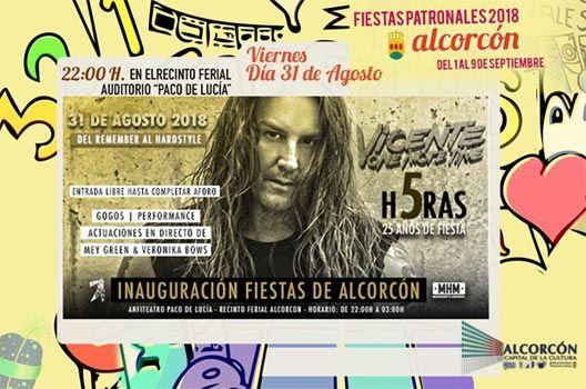 Fiestas de Alcorcón 2018 - Vicente One More Time