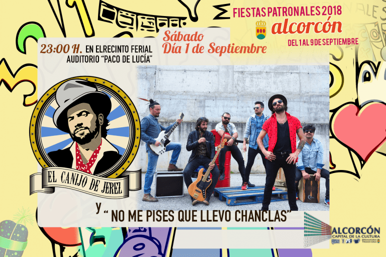 Programa de las fiestas de Alcorcón 2018