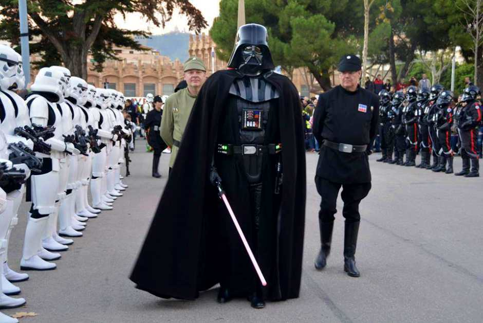 La Legión 501 visita Alcorcón