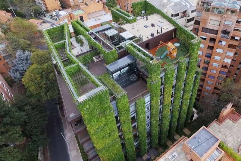 Se inaugurará el mayor jardín vertical interior de Europa
