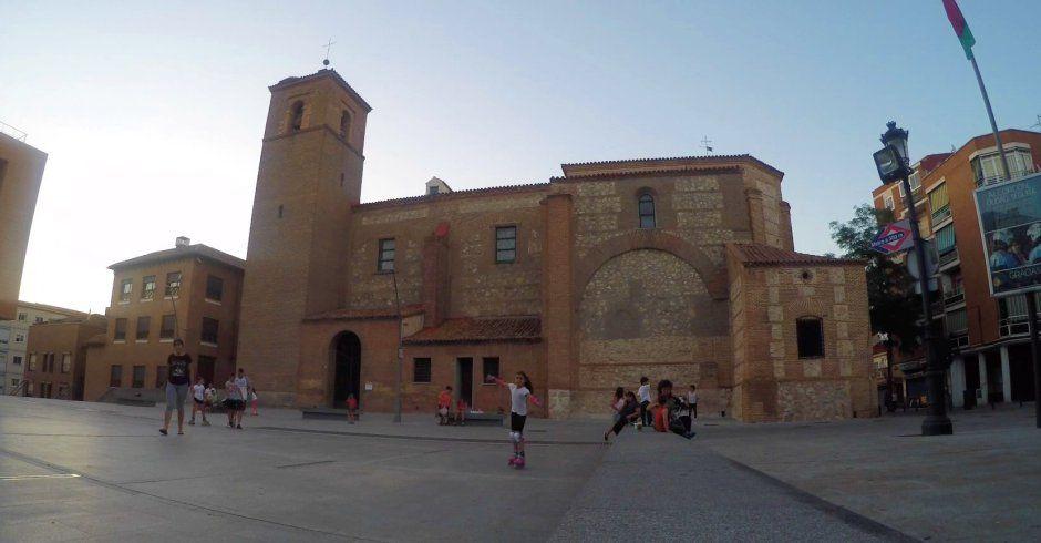 Time Lapse Santa María la Blanca de Alcorcón