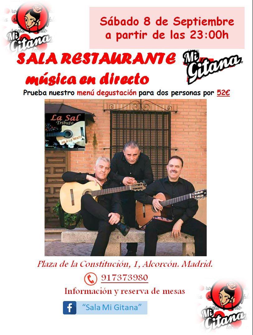 Sala Restaurante Mi Gitana en Alcorcón