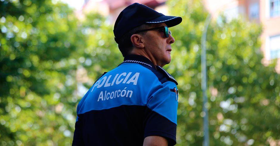 La policía de Alcorcón