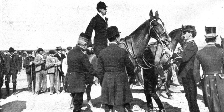 El Rey Alfonso XIII en Alcorcón en el año 1907.El 7 de marzo de 1907. se publicó en Nuevo mundo la siguiente crónica de palacio. Han pasado 111 años Toda una eternidad.