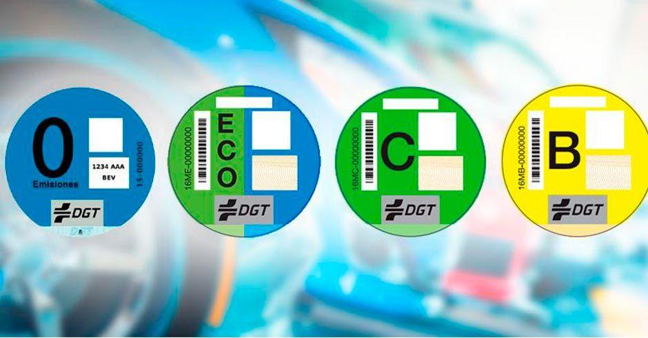 Las multas para los coches que no lleven la pegatina DGT ya son una realidad