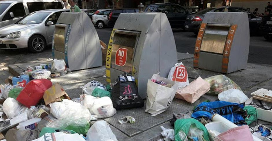 Ganar Alcorcón presentará un Plan de Limpieza ante la acumulación de suciedad