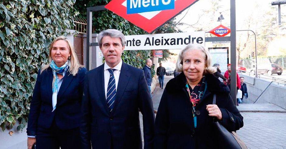 La estación de Metro de Atocha
