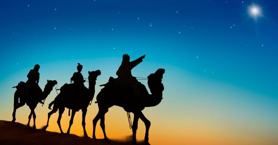la cabalgata de Los Reyes Magos