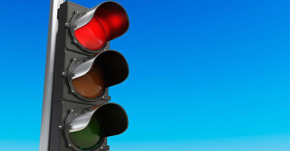 Los semáforos de la A-5