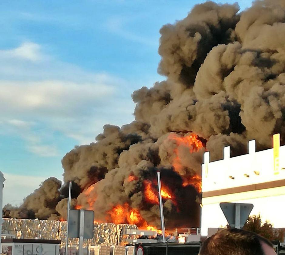 Incendio en Marepa
