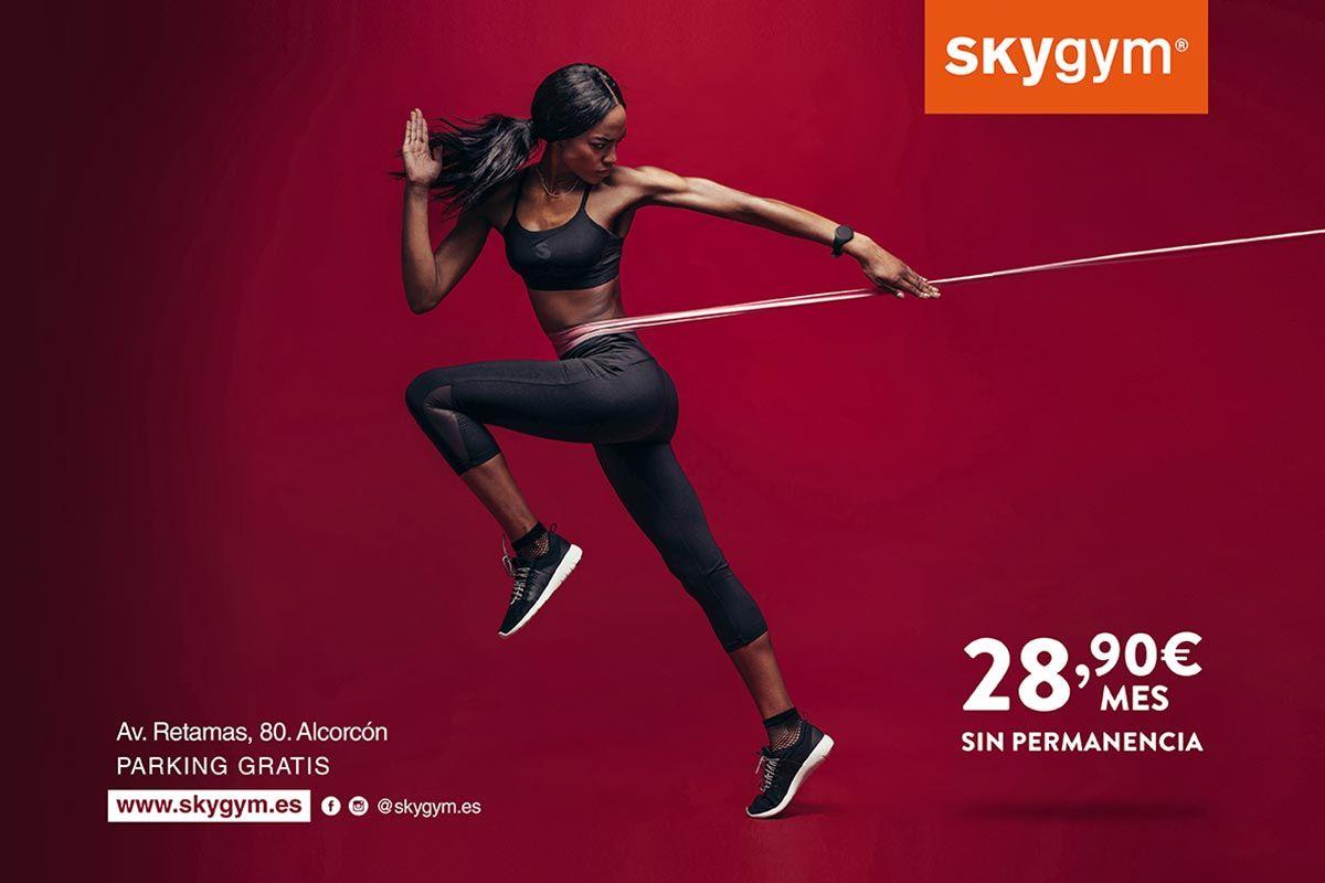 Skygym, tu gimnasio en Alcorcón