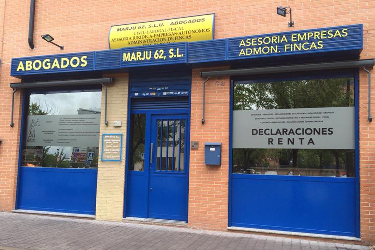 Marju 62, Asesoría Jurídica en Alcorcón