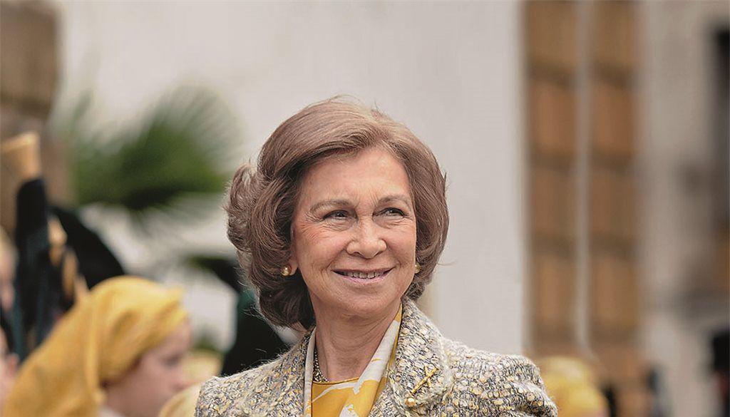 La reina emérita doña Sofía