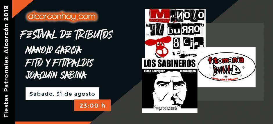 Programación para el sábado 31 de agosto en las Fiestas de Alcorcón